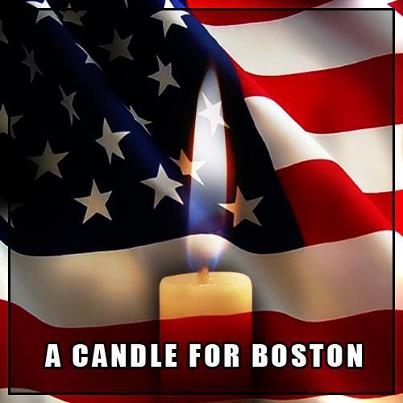 Rich Milz salutes Boston's first responders.